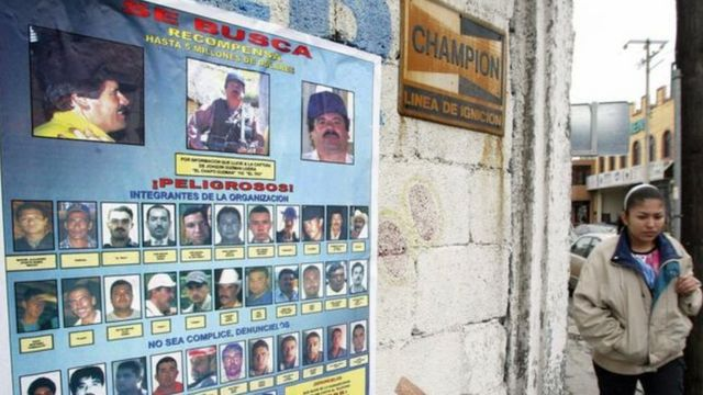 Fotos de suspeitos procurados no México