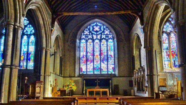 Una iglesia en Inglaterra