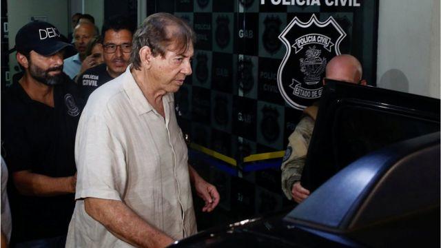 João de Deus se apresenta para a polícia no último domingo, 16 de dezembro