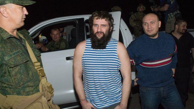 В августе 2015 в районе Марьинки произошел обмен пленными