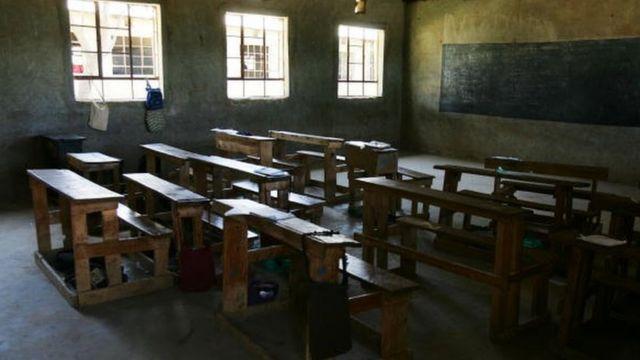 Darasa ambalo halina wanafunzi Kenya