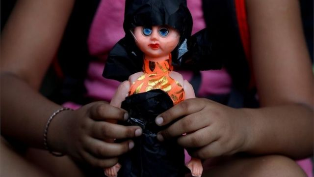 India child rape: Huge protests in Madhya Pradesh