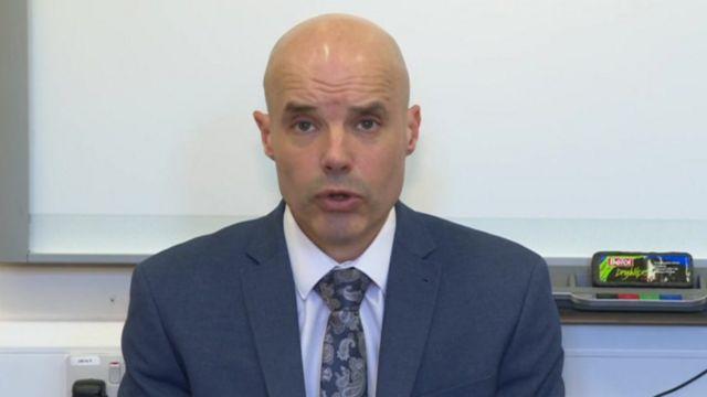 Head teacher Gary Kibble