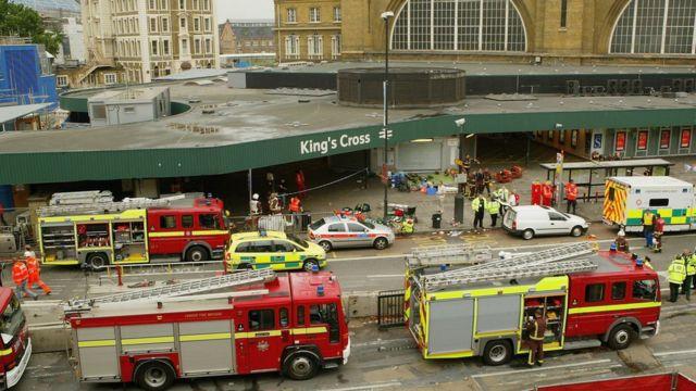 Estación de bomberos King's Cross