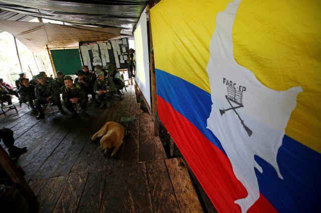 Campamento de las FARC