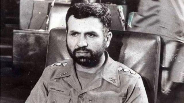 موسی نامجو، وزیر دفاع وقت ایران