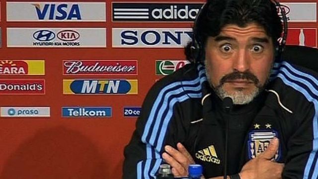 Maradona anyimwa visa ya kuingia Marekani kwa kumtusi Trump