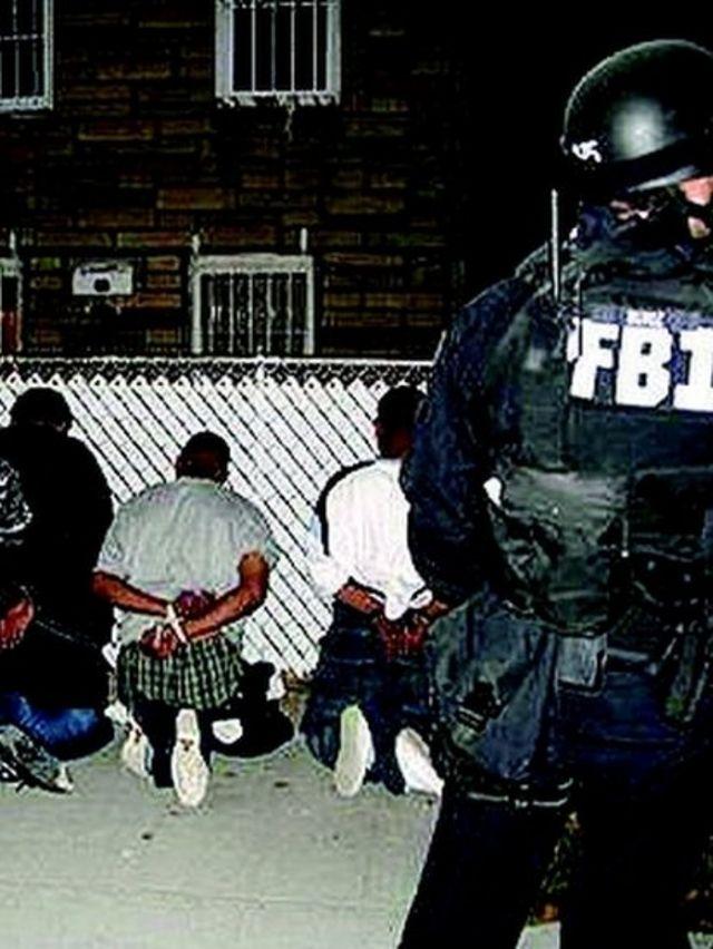 Arresto de pandilleros