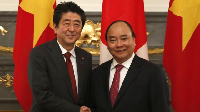 Thủ tướng Việt Nam Nguyễn Xuân Phúc thăm Nhật Bản tháng Sáu 2017