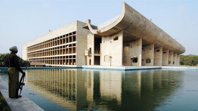 Asamblea de Chandigarh, India