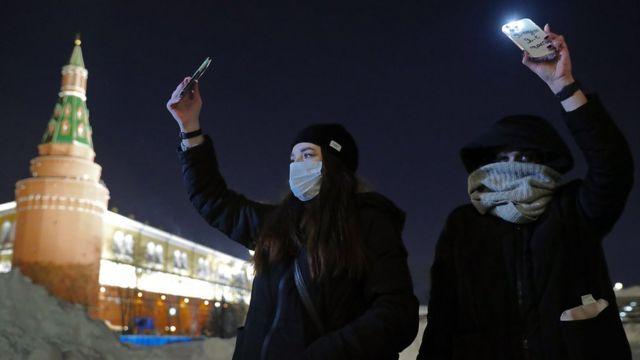 Акция протеста на Красной площади