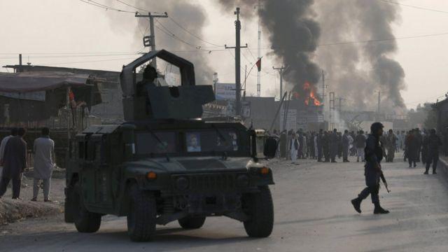 阿富汗首都喀布爾的一次爆炸