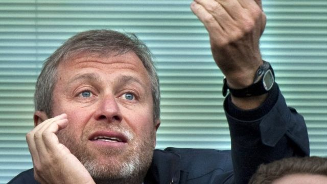 Roman Abramovich dey force to watch im club FA cup final from Russia