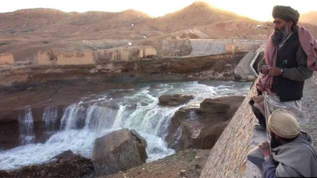 阿富汗水庫決堤