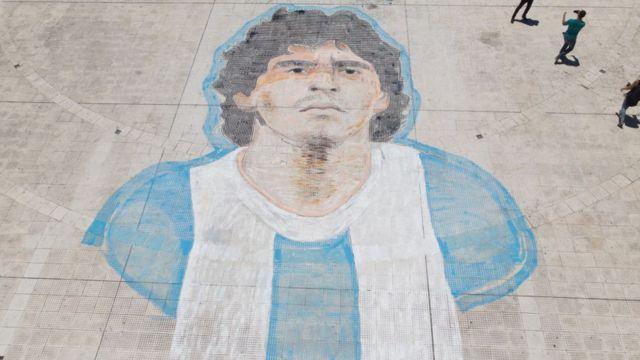 Entierro de Diego Maradona