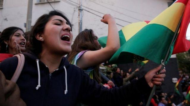 볼리비아 시민들은 대통령 임기 제한을 없애자는 대통령의 제안을 거부했다
