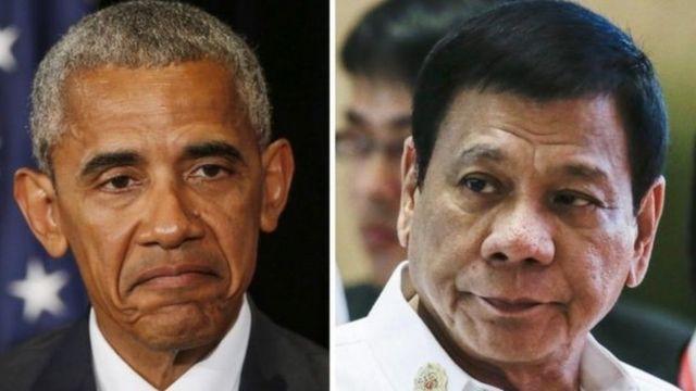 Обама и Дутерте