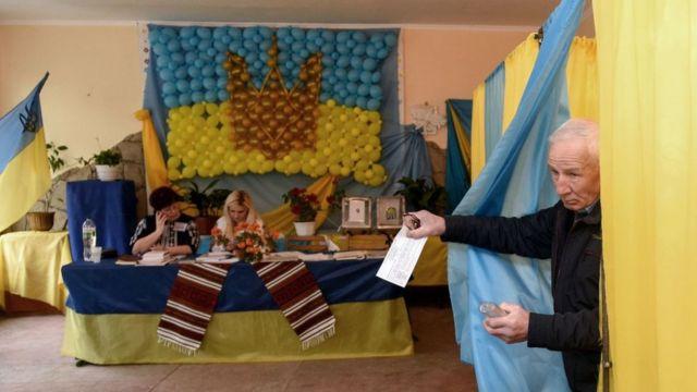oy kullanan ukraynalılar