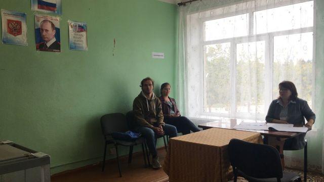 Избирательная комиссия в Цапельке ждет избирателей