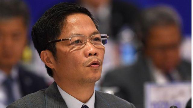 Ông Trần Tuấn Anh tại một cuộc họp bên lề APEC 2017