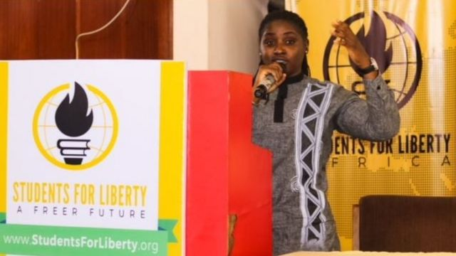 Pamela Adie na Executive Director of Equality Hub and she be LGBT Rights activist.