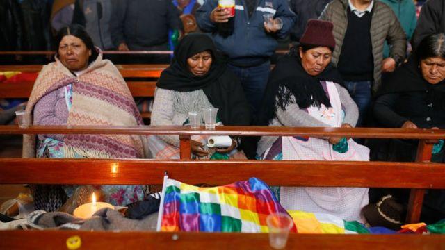 Funeral en Bolivia