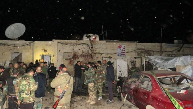 صور لموقع الحادث