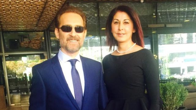 Farhad Darya and his wife, Sultana