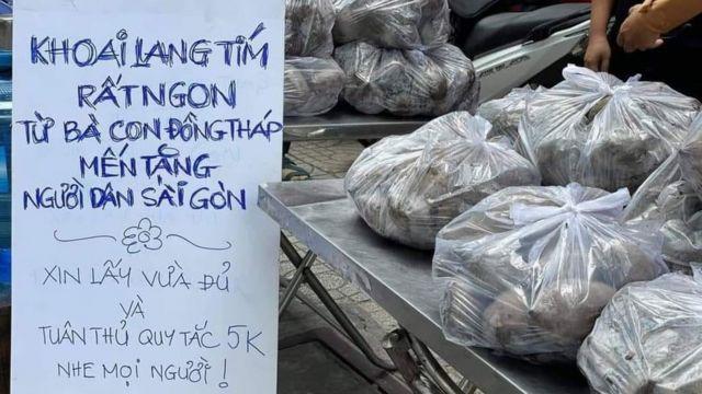 Khoai lang tím Đồng Tháp