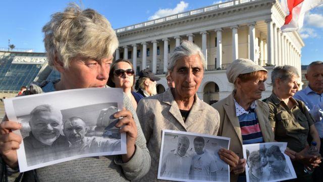 Акции памяти журналиста Павла Шеремета в Киеве
