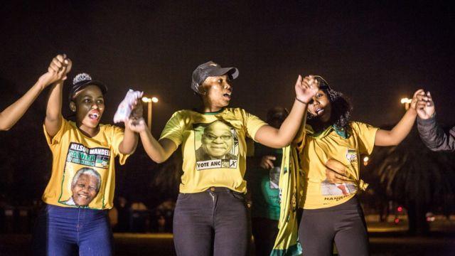 Abashigikiye Jacob Zuma