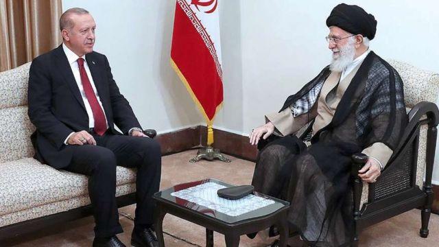 رهبر ایران در دیدار با رئیس جمهور ترکیه گفته آمریکا تلاش در جدا کردن کشورهای اسلامی دارد.