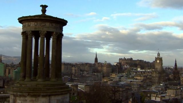 Edinburgh's skyline