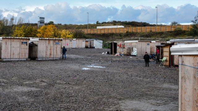 أحد مخيمات اللاجئين شمال فرنسا