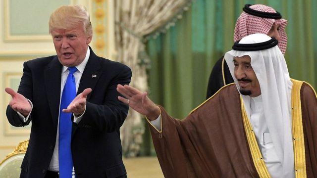 سلمان و ترامپ