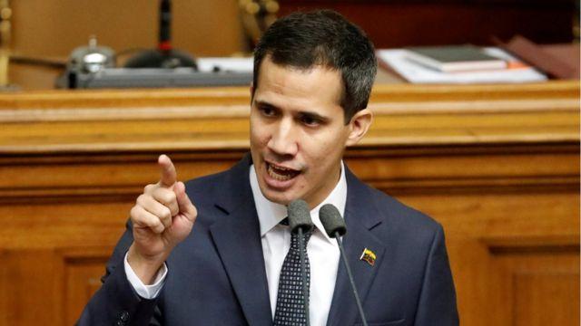 Гуаидо называет президента Мадуро узурпатором