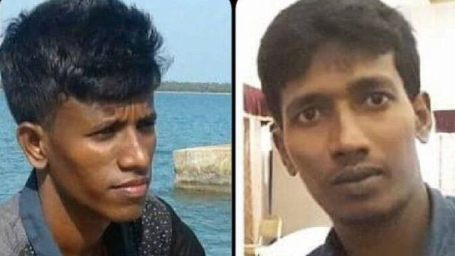 मारे गए तमिल छात्र