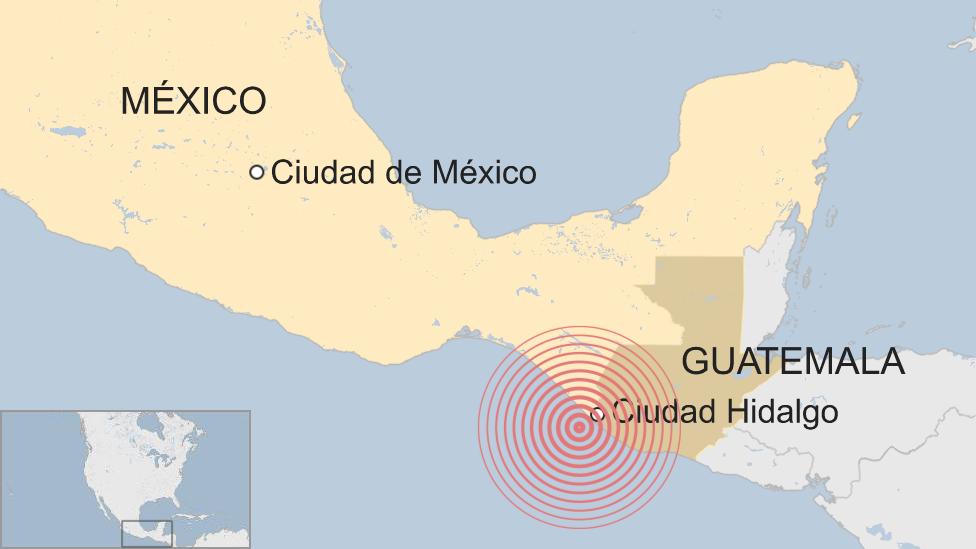 Sismo En Ciudad Hidalgo Un Temblor De Magnitud 6 5 Sacude La Frontera De Mexico Y Guatemala Bbc News Mundo