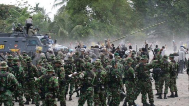 Hasil penyelidikan Komnas HAM menemukan beberapa pelanggaran HAM berat di Papua