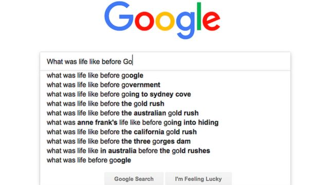 Life before Google: What was it like?