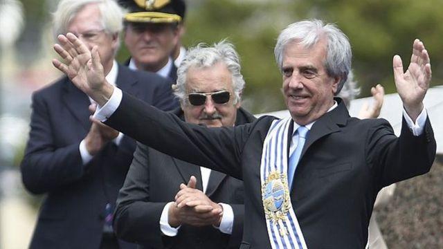 José Mujica y Tabaré Vásquez