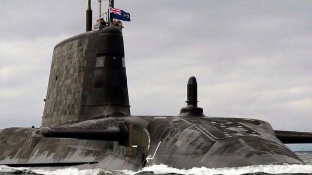 غواصات نووية بريطانية