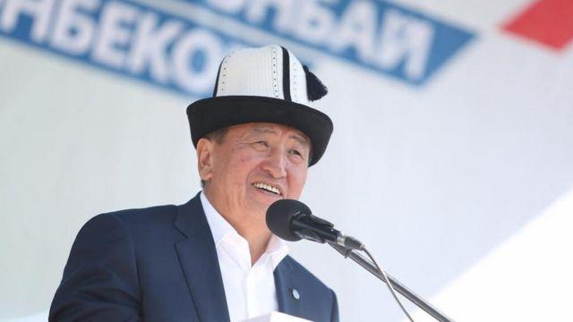 Президенттик шайлоодо жеңүүчү Сооронбай Жээнбеков