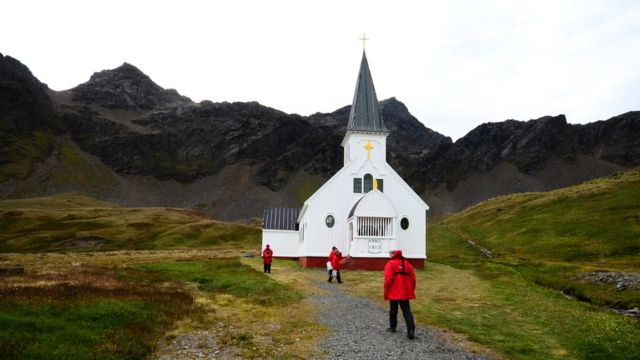 Iglesia en Georgia del Sur
