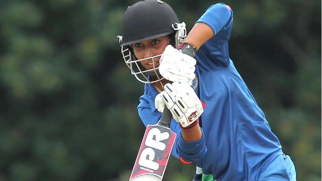 Indian cricketer Neha Tanwar