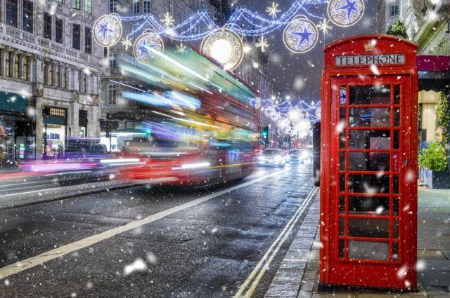 Un autobús en Londres