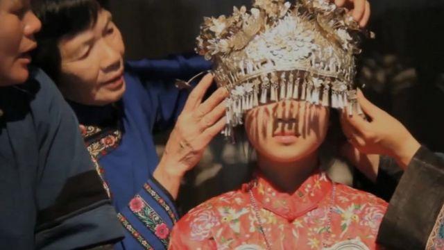 A Nu Shu woman