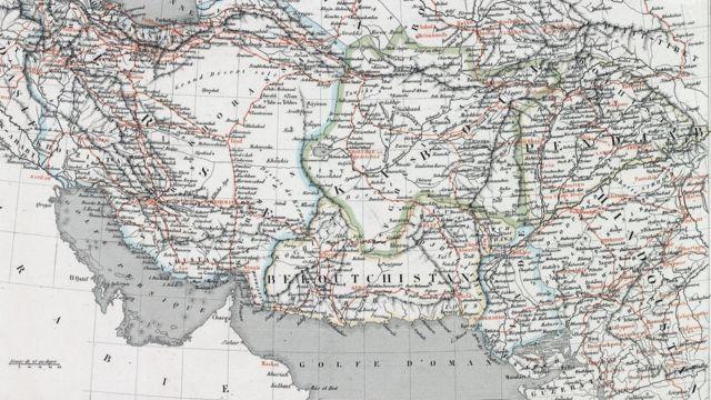 Persia, Kabul, Belochistan and Punjab. Atlas of Geography. Paris 1840