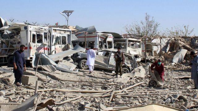 탈레반은 아프가니스탄에 막대한 피해랄 초래할 능력이 된다