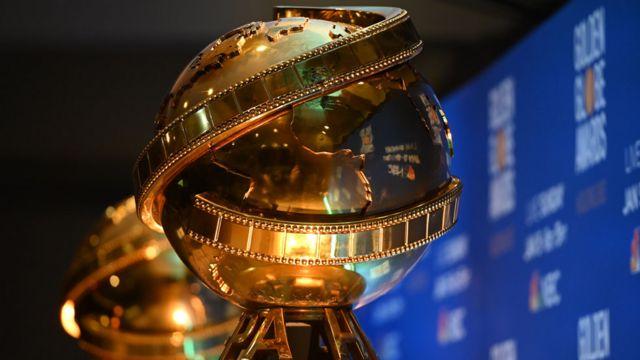 Golden Globes trophies